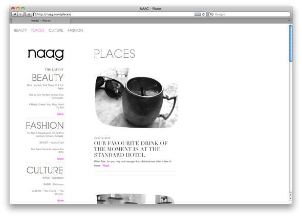 Агнесс Дейн и Фиона Бирн запустили онлайн–журнал. Изображение № 3.