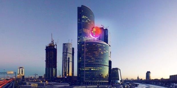 На здании «Москва-сити» появится «Око Саурона» . Изображение № 1.