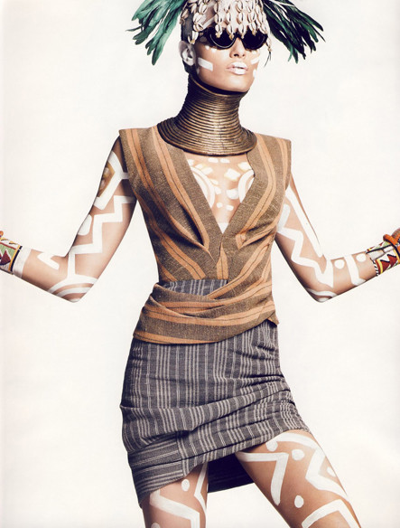 Vogue French November 2009. Изображение № 8.