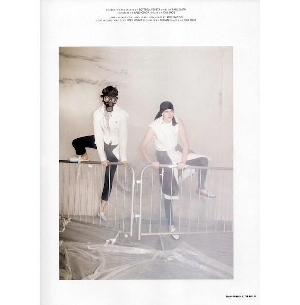 Изображение 26. Мужские съемки: Vogue, L'Officiel и другие.. Изображение № 35.