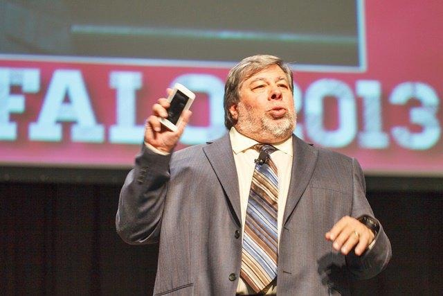 Стив Возняк на конференции HighEdWeb в 2013 году. Изображение № 1.