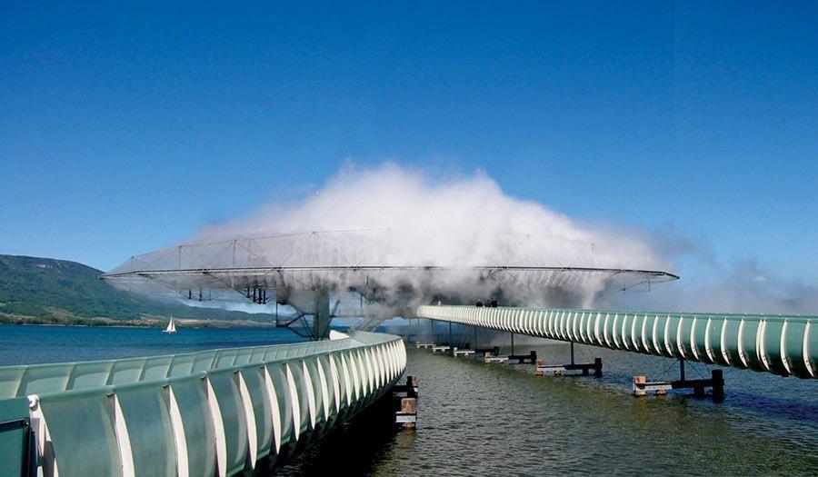 Павильон Blur Building на Expo 2002 в Швейцарии. Изображение № 28.