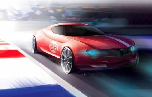 Alfa Romeo Berlina DaCorsa. Изображение № 2.