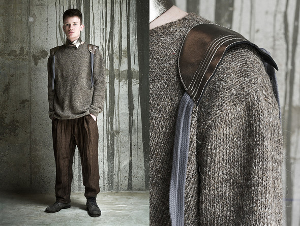 DOMANOFF fall-winter 2012-2013 look-book. Изображение № 15.