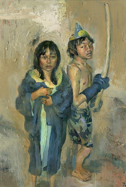 Картины маслом отКента Уильямса (Kent Williams). Изображение № 20.