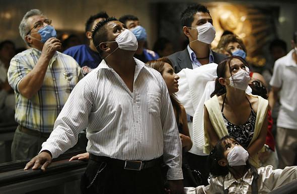 Свиной грипп вМексике. Изображение № 5.