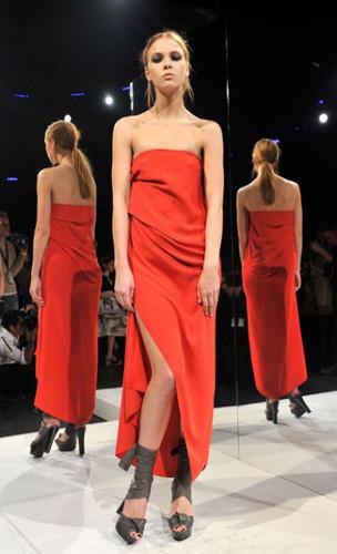 Lublu Kira Plastinina FW 2011 на показе на Нью-Йоркской неделе моды. Изображение № 18.