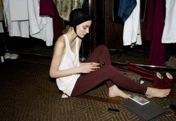 Лукбук: Victoria Beckham Denim FW 2011. Изображение № 2.