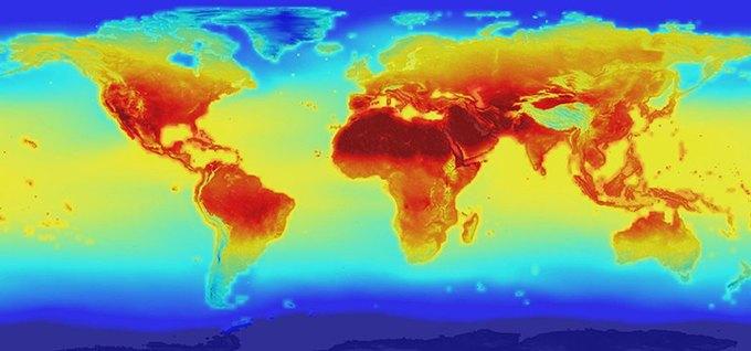 NASA выпустило прогноз по изменению климата Земли . Изображение № 1.
