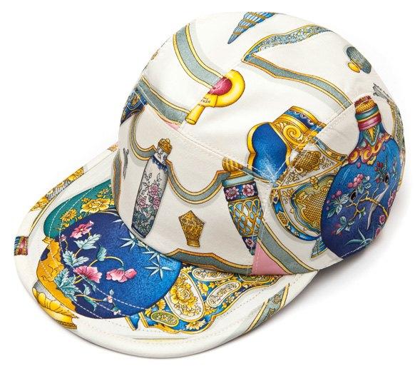 Géométrick создали кепки из платков Celine и Hermes. Изображение № 2.