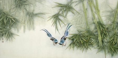 Птицы ицветы. Изображение № 19.