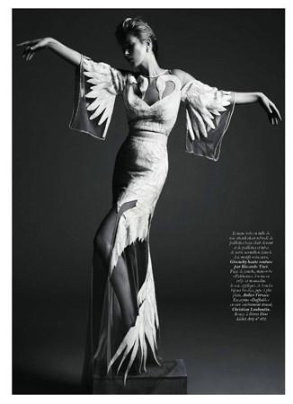 Съёмка Кейт Мосс для французского Vogue, май 2011 . Изображение № 39.
