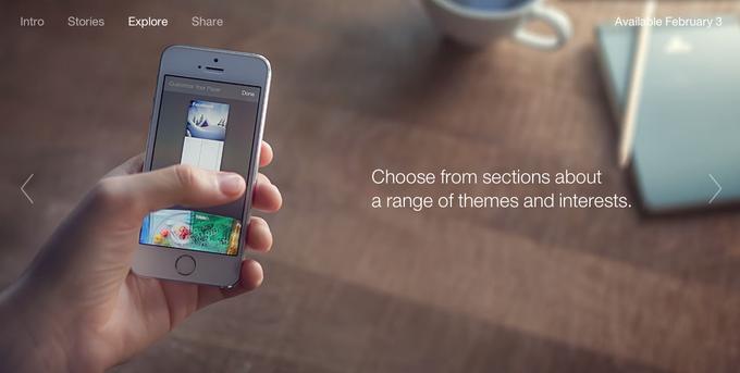 Facebook запускает новостное приложение Paper. Изображение № 2.