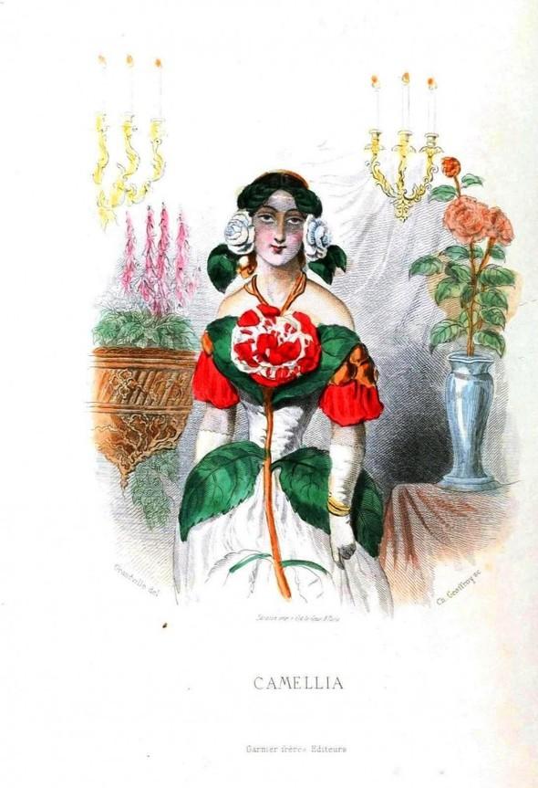 Винтажные иллюстрации J.J. Grandville. Изображение № 18.