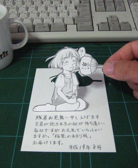 Фотоработы аниме избумаги. Изображение № 12.