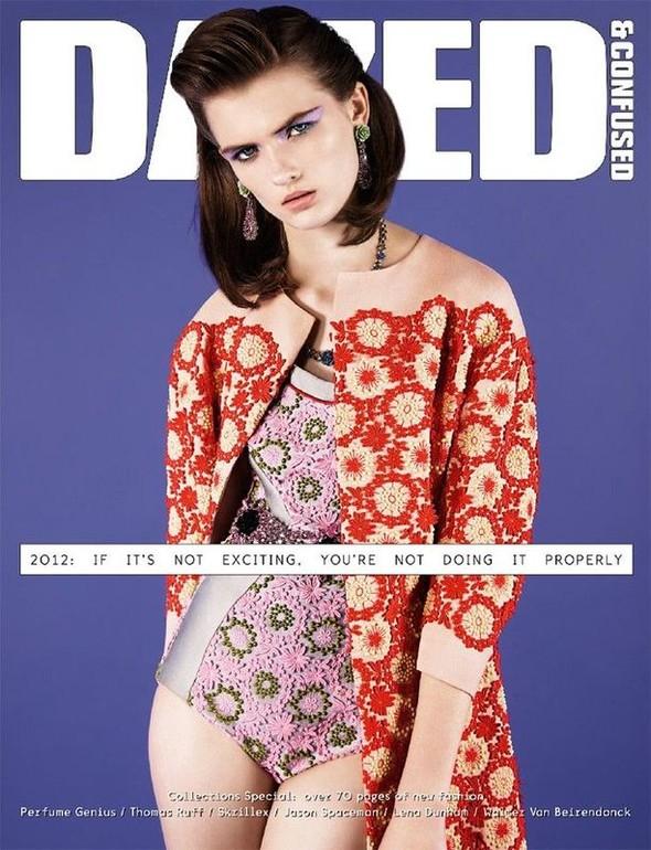 Обложки: Dazed & Confused, AnOther и другие. Изображение № 4.