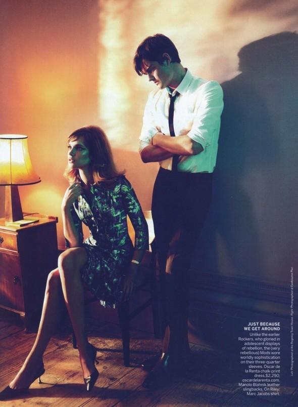 Съёмка: Наталья Водянова для Vogue. Изображение № 7.