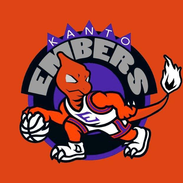 Дизайнер добавил покемонов в эмблемы команд NBA. Изображение № 5.
