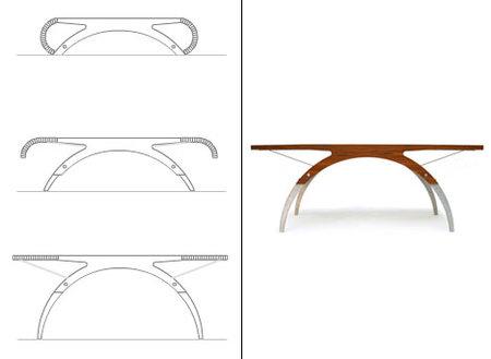 Трансформирующийся столик. Изображение № 2.