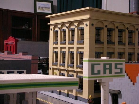 Изображение 20. Улицы Нью-Йорка из конструктора LEGO.. Изображение № 20.