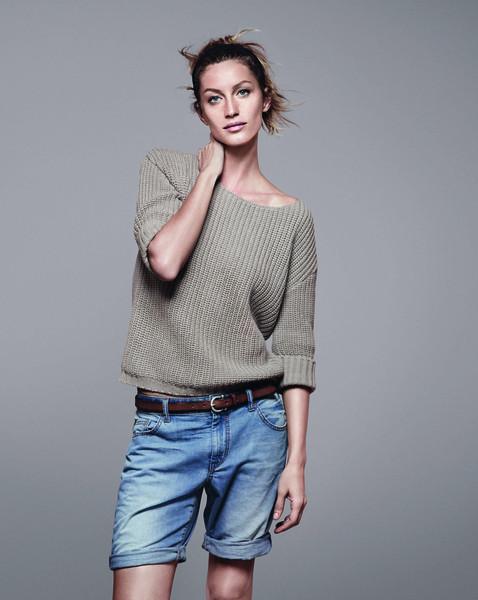 Жизель Бундхен представила новую коллекцию марки Esprit. Изображение № 8.
