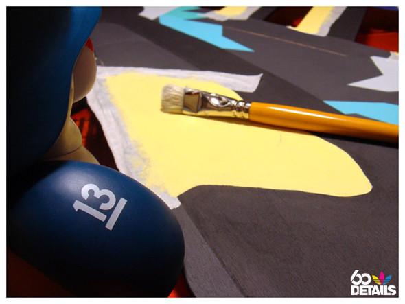 2D sculpture artist: SBSS (process). Изображение № 4.