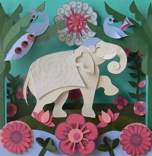 Бумажные картины-аппликации Helen Musselwhite. Изображение № 26.
