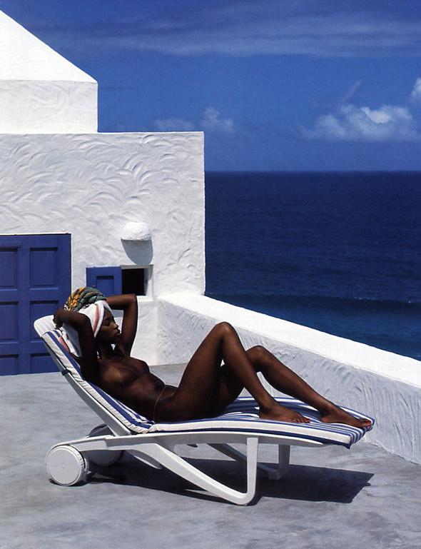 Архивная съемка: Наоми Кэмпбелл для американского Elle, 1994. Изображение № 1.