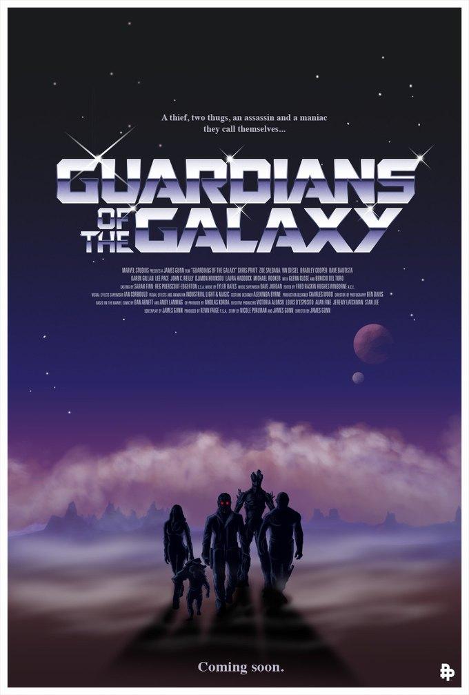 Опубликованы 44 фанатских постера к «Стражам Галактики». Изображение № 18.