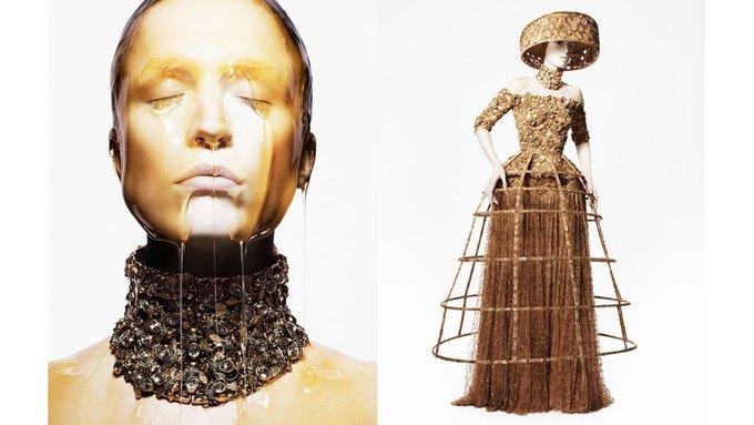 Alexander McQueen, Celine и LUBLU Kira Plastinina показали новые кампании. Изображение № 4.