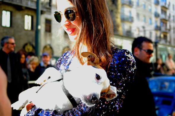 Milan Fashion Week. За кадром. Изображение № 10.