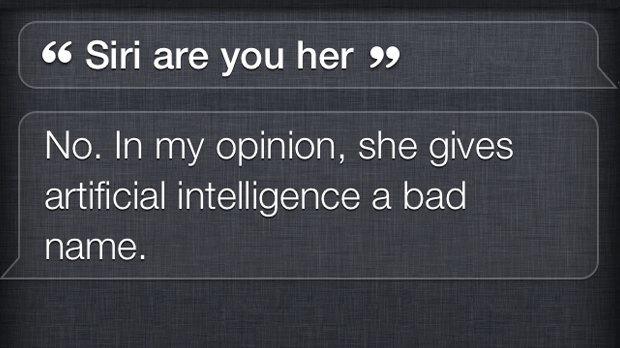 Siri ревнует Спайка Джонза к его фильму Her . Изображение № 2.