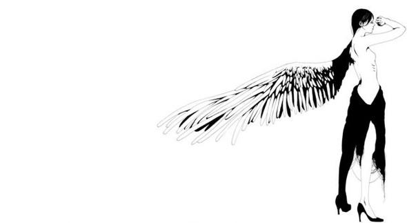 Katsuta Mako – черно-белая грация. Изображение № 12.
