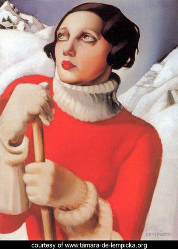 Тамара де Лемпицка – художница и икона Арт Деко. Изображение №13.