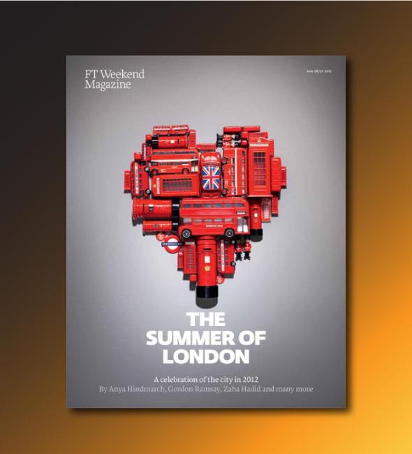 Олимпийские обложки недели: Инсталляции из красных автобусов и сотни открыток. Изображение № 5.