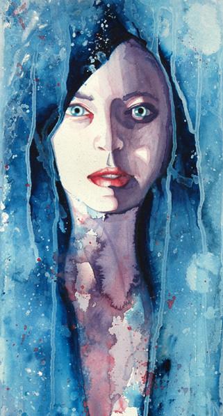 Акварельные портреты Молли Брилл. Изображение № 12.