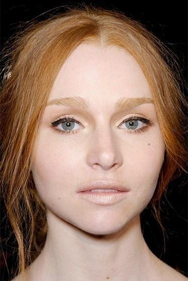 Изображение 10. Beauty looks на неделе моды в Нью-Йорке.. Изображение № 10.