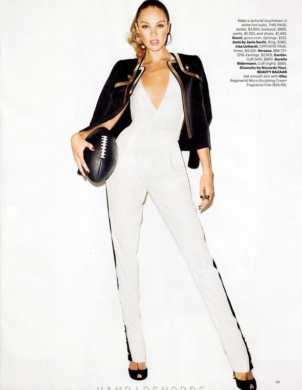 Съёмка: Терри Ричардсон для Harper's Bazaar. Изображение № 4.