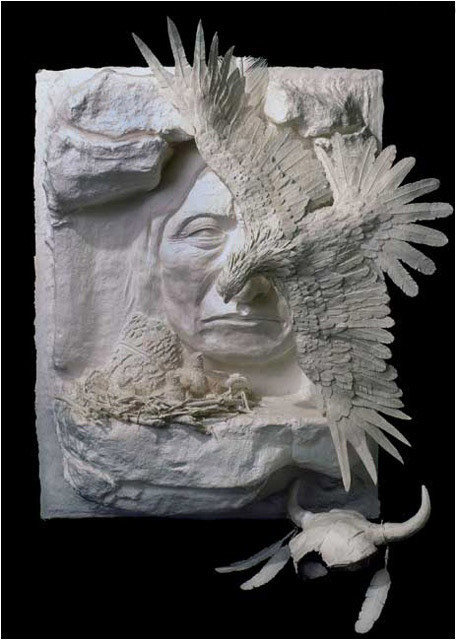 Бумажные скульптуры. Изображение № 24.