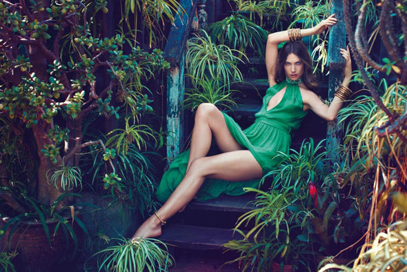 Кампания: Джессика Миллер для Blugirl SS 2012. Изображение № 5.
