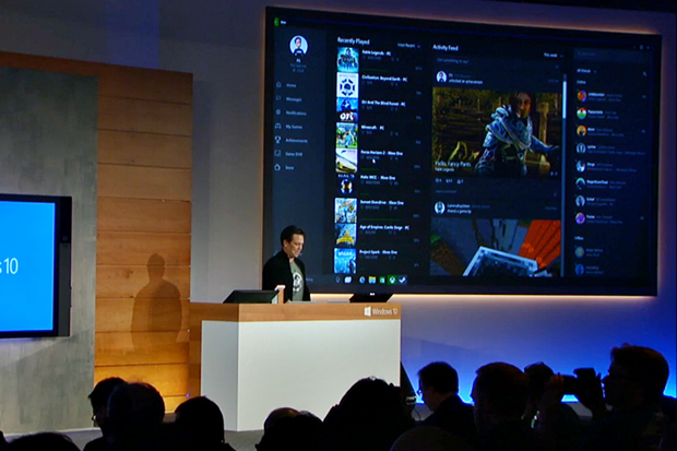 Через Xbox Live можно играть в одну игру с консоли и ноутбука. Изображение № 1.