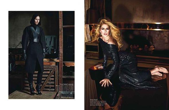 Стоп-кадр: Съемки Love, Vogue, Russh и Numero. Изображение № 14.