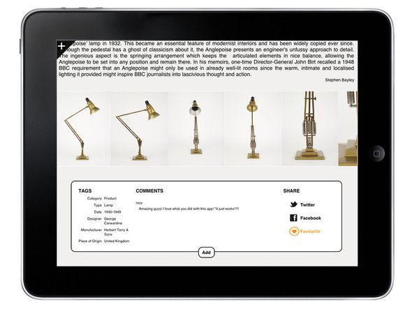 История британского дизайна на iPad. Изображение № 1.