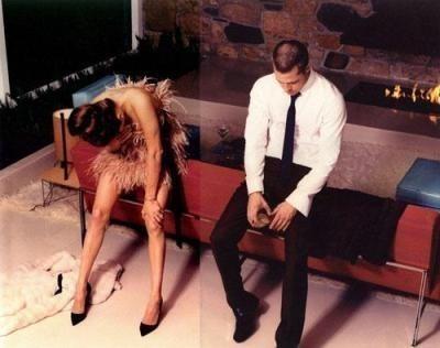 Фотоссесия Бреда Питта иАнджолины Джоли (2005) дляW. Изображение № 7.