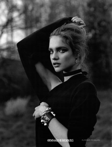 Наталья Водянова длярусского Vogue. Изображение № 5.