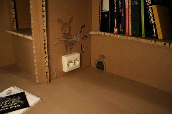 Картонный офис. Изображение № 15.