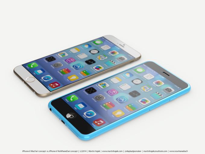 Дизайнер создал концепты iPhone 6s и 6c на основе «слива» из японского журнала. Изображение № 4.