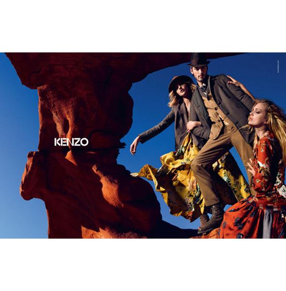 3 новые рекламные кампании: Burberry, Etam и Kenzo. Изображение № 19.