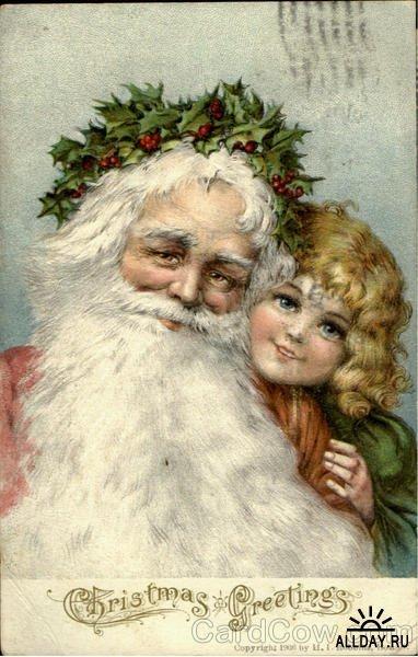 Новогодняя ирождественская открытка. Изображение № 2.