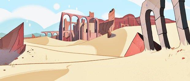 Анимация дня: фэнтезийный ролик про любовь и побег. Изображение № 7.
